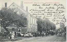 RIWENSART : Hotel De La Gare - Cachet De La Poste 1905 - Rixensart