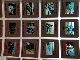 Lot De 271 Diapositives Anciennes - Diapositives