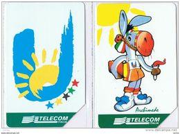 2  USATE:  £. 5.000 + £. 10.000  -  31.12.1999  -  SICILIA  '97  -  S. CPL. - Italie