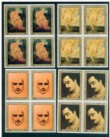 Lebanon 1983 Birth Centenary Of Gibran Khalil Gebran Blk Of 4 MNH Very Fine - Líbano