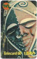 Vanuatu - Telecom Vanuatu - Mask #4, Remote Mem. 1350vt, Exp.31.12.2001, Used - Vanuatu