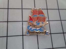 415a Pin's Pins / Rare & Belle Qualité !!! THEME : BATEAUX / GALION DE ST MALO - Barcos