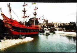 """Grand Voilier """"Pirates Of The Caribean"""" Grand Parc Attraction Paris -  Photographie Kodak  En France - - Bateaux"""