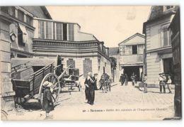CPA 92 Sceaux Sortie Des Ouvriers De L'imprimerie Charaire - Sceaux