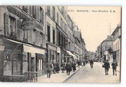CPA 92 Sceaux La Rue Houdan - Sceaux