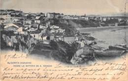 ESPANA Espagne ( Pais Vasco ) VIZCAYA BILBAO - ALGORTA : Desde La Bateria De S. Ignacio  CPA - Spain - Vizcaya (Bilbao)