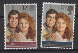 Grande-Bretagne 1986. Y & T N° 1236/37, MH.  Cote Y & T  2012 : 2.50 € - Nuovi