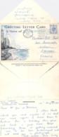 ** LETTER CARD ** UK ROYAUME UNI Angleterre ( Yorkshire ) SCARBOROUGH : 9 Viewx - CPA Postée 1952 - - Scarborough