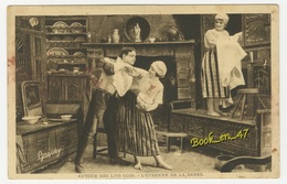 {20723} Autour Des Lits Clos , L' étrenne De La Barbe - Folclore