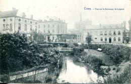 N°1871 R -cpa Ciney -vue Sur Le Ruisseau De Leignon- - Ciney