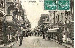 N°1875 R -cpa Le Touquet Paris -rue De Paris-- - Le Touquet