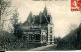 N°1876 R -cpa St Germain Des Fossés -château De Tinturière- - France