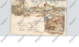 SVK - 91101 TRENCIN / TRENCSEN, Postal Stationary / Ganzsache 1897, Nach Passau Befördert - Slovaquie