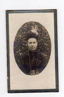 Doodsprentje VROUW FEMME Catharina VAN DER HOEVEN °1849 DENDERHAUTEM DENDERHOUTEM +1920 DENDERHOUTEM // ROELANDT - Images Religieuses