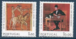 PORT 1975  Timbres Europa  N°YT  1261-1262  ** MNH . - 1910-... Republic
