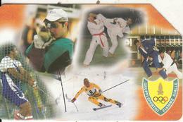 ITALY - Italian Olympic Team, Exp.date 31/12/03, Used - Italie