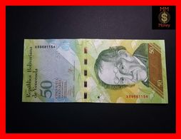 VENEZUELA 50 Bolivares 29.10.2013 P. 92   UNC - Venezuela