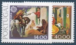 PORT 1979 Timbres Europa  N°YT  1421-1422  ** MNH . - 1910-... Republic