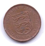 JERSEY 1971: 1/2 New Penny, KM 29 - Jersey