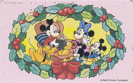 JAPAN - TC JAPON / 110-161715 - DISNEY - Série NOEL 8/25 - CHRISTMAS Series Santa Phonecard - WEIHNACHTEN - Disney