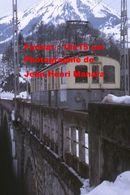 Reproduction D'une Photographie D'un Train A.S.D Sur Un Pont Chemin De Fer Aigle Les Diablerets En Suisse En 1968 - Reproductions