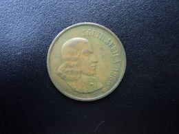 AFRIQUE DU SUD : 2 CENTS   1969   KM 66.1      TTB - Sudáfrica