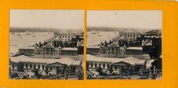 Stereo, Constantinople, Vue Générale Du Palais Du Sultan, S.I.P., Dos Blanc - Visionneuses Stéréoscopiques
