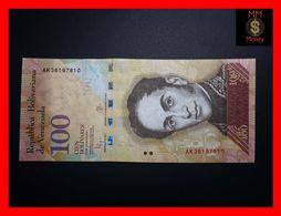VENEZUELA 100 Bolivares 23.6.2015 P. 93   UNC - Venezuela