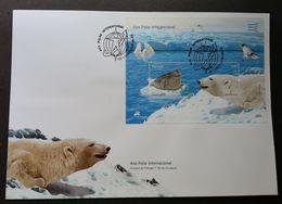 Portugal International Polar Year 2008 Ice Bear Seals Fauna (FDC) - 1910-... République