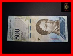 VENEZUELA 500 Bolivares 18.8.2016 P. 94   UNC - Venezuela