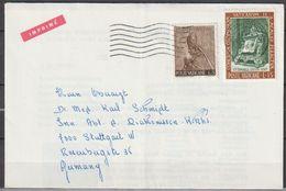 Vatikan 1967 Mi-Nr.490,509 Brief Vatikanstadt Nach Stuttgart( D 284 )günstige Versandkosten - Vatican