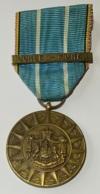 """Militaria. Médaille Décoration. Volontaire Corée. """"Pour La Défense Des Principes De La Charte Des Nations Unies"""". - Belgique"""