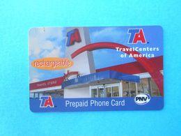 TA TravelCenters Of America $5 ( Usa Prepaid Phone Card ) Calling Card Prépayée Carte Carta Prepagata Remote GSM - Autres