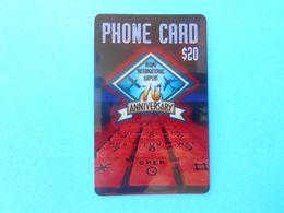 WTN - Miami International Airport $20 ( Usa Prepaid Phone Card ) Calling Card Prépayée Carte Carta Prepagata Remote GSM - Autres