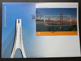 Portugal 25 De Abril Bridge Lisbon 2008 Architecture Building Bridges (FDC) - 1910-... République