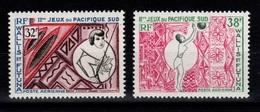 Wallis & Futuna - YV PA 29 & 30 N** Jeux Du Pacifique Sud à Noumea - Luftpost