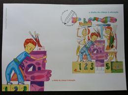 Portugal Children Right Education 2008 Painting Drawing Art Academic Study (FDC) - 1910-... République