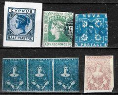 767 -  BRITISH POSSESSIONS - 1850 - FORGERIES, FAKES, FAUX, FALSCHEN FALSOS - Collezioni (senza Album)