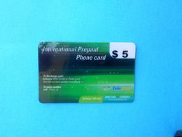TELE LINK - INTERNATIONAL - $5 ( Usa Prepaid Phone Card ) Calling Card Prépayée Carte Carta Prepagata Remote GSM - Autres