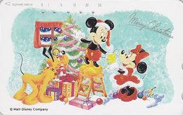 JAPAN - TC JAPON / 110-133761 - DISNEY - Série N° 1/25  PERE NOEL - Santa CHRISTMAS Series Phonecard - WEIHNACHTEN - Disney