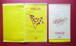 Ferrari Grande Calendario 1992 Gare Vittorie Storia Maranello Modena Auto Sport - Calendriers
