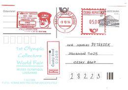 1994 70e  Anniversaire Des Jeux Olympiques De Chamonix 1924: Hommage à J.Rössler-Orovsky Précurseur Du Sport Tchèque. - Winter 1924: Chamonix