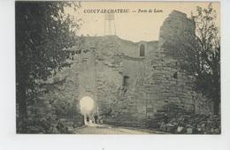 COUCY LE CHATEAU - Porte De Laon - France