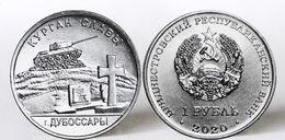 Transnistria - 1 Ruble 2020 UNC Barrow Of Glory Dubossary Lemberg-Zp - Moldova