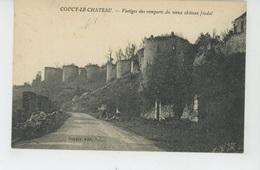 COUCY LE CHATEAU - Vestiges Des Remparts Du Vieux Château Féodal - France