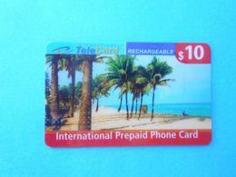 INTERNATIONAL TELECARD - $10  (Usa Prepaid Phone Card) Calling Card Prépayée Carte Carta Prepagata Remote GSM - Autres