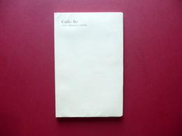 Carlo Bo Altre Riflessioni Critiche Urbino 1973 Letteratura Critica Letteraria - Livres, BD, Revues