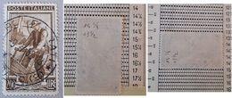# Italia Al Lavoro 200 Lire Fil. 2 DB - Dent. 14 1/4 X 13 1/2 - 1946-.. République