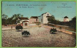 Lagos - A Histórica Ermida De Santo Amaro - Moinho De Vento - Molen - Windmill - Moulin. Faro. - Faro
