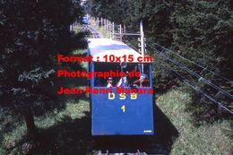 Reproduction D'une Photographie Du Funiculaire DSB N°1 à Davos En Suisse En 1971 - Reproductions